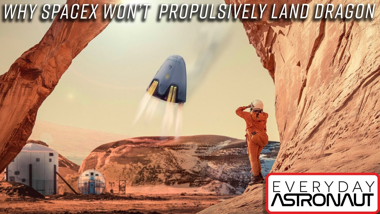 Why SpaceX won't propulsively land their Dragon capsule ...