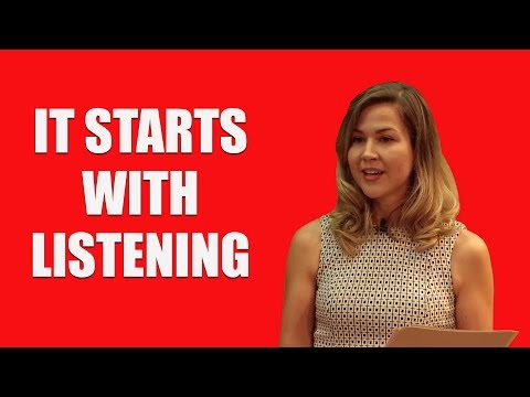 Cassie Jaye:  It Has to Start With Listening