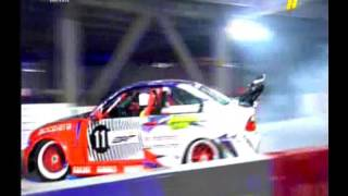Fadi Boustani during the second leg of Red Bull Car Park Drift - Dubai  2015