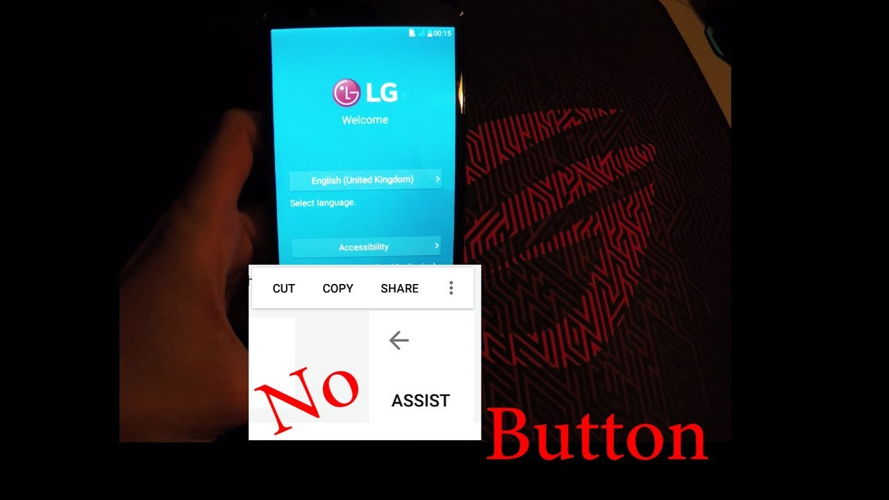 LG Google Bypass No Assist Button Solution