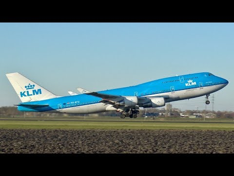 [4K] Sunny Morning Plane Spotting at Amsterdam Airport Schiphol | B747, B777, A340, A350, A380