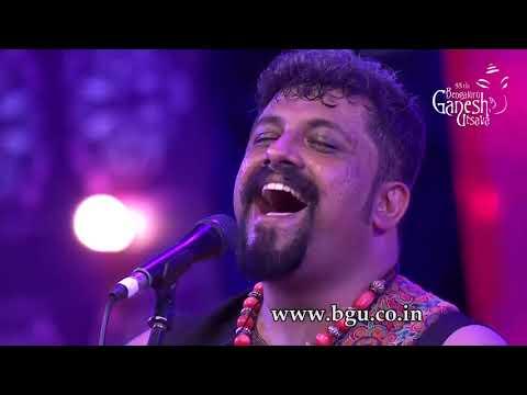 """""""Ninna Poojege Bande Mahadeshwara"""" by Raghu Dixit at 55th Bengaluru Ganesh Utsava"""