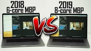 2018 vs 2019 MacBook Pro Thermal Throttle Comparison