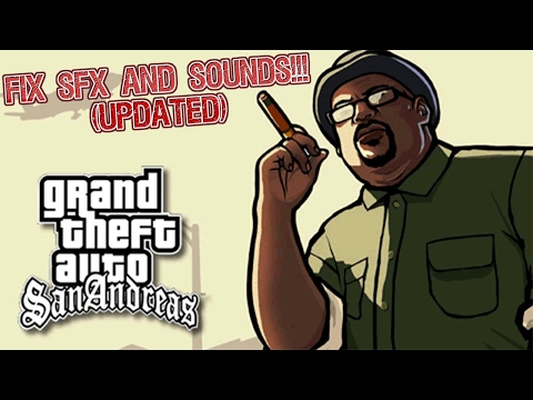 How To Fix Cutscene Voices and Music in GTA SA [PEDESTRIAN AUDIO FIXED]