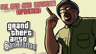 [OLD] How To Fix Cutscene Voices and Music in GTA SA
