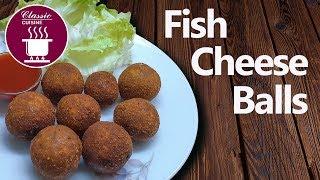 Fish Cheese Balls || Easy Recipe