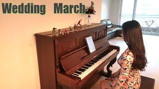 축혼행진곡 (결혼 행진곡) 연주, 악보 wedding march piano sheet by KERI Piano 케리피아노
