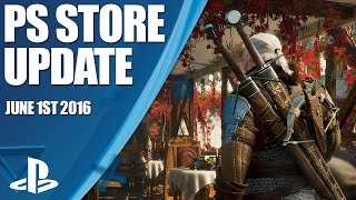 PlayStation Store Highlights - 1st June 2016