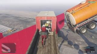 Affrontement parkour sur gta5