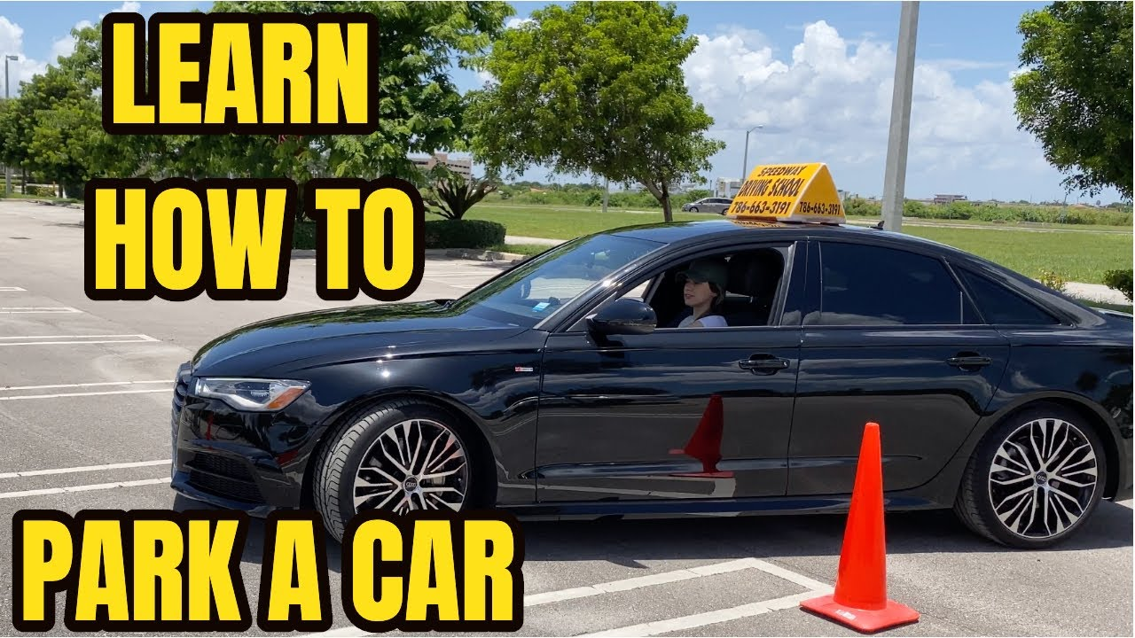 Download HOW TO PARK A CAR IN A PARKING SPACE FOR BEGINNERS
