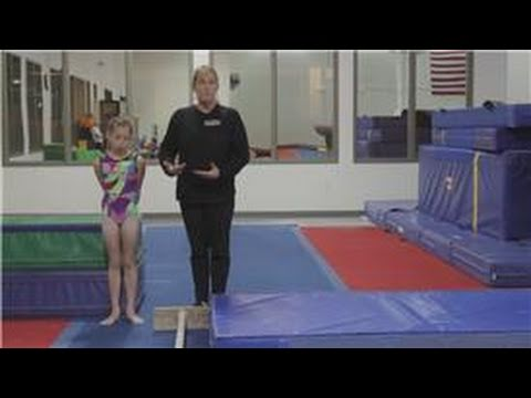 gymnastics tips and exercises  how to teach a cast