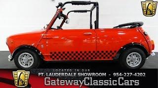 1970 Austin Morris Mini Cooper Gateway Classic Cars of Fort Lauderdale