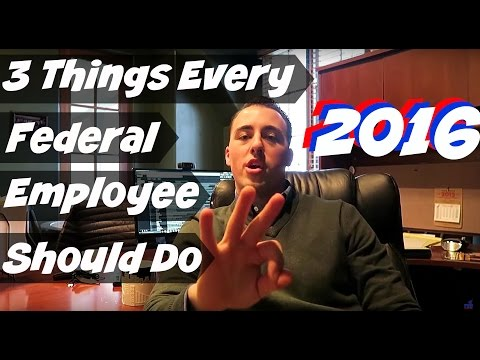 The 3 Things Every Federal Employee Should Do in 2016