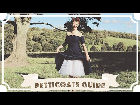 Vintage Petticoat Guide: Tips and Tricks! [CC] thumbnail