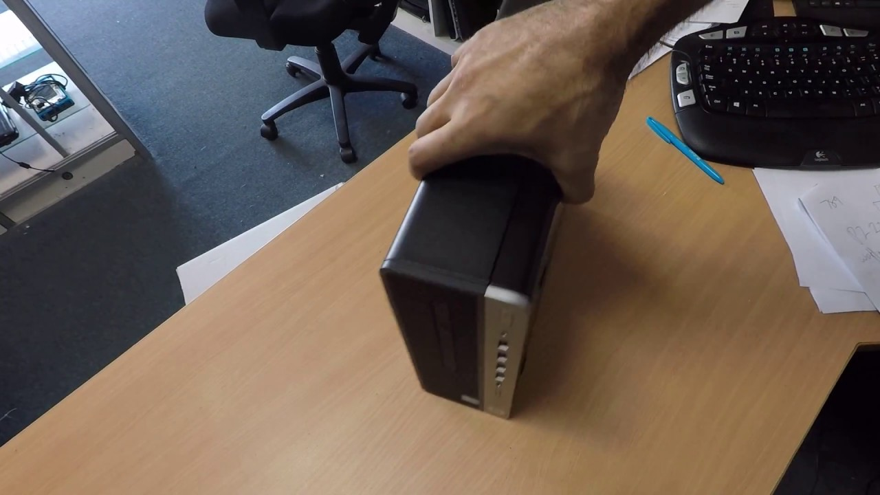 Hp 600 G3 Small Form Factor Unboxing Inside