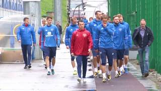 Тренировка национальной сборной России в Новогорске