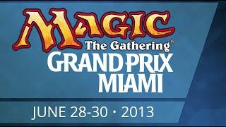 GP Miami 2013 - Standard - Round 1 - Carlos Melchor vs Mike Flores