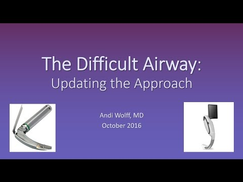 The Difficult Airway Updated Video