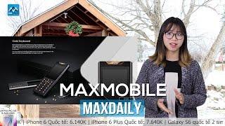 """MaxDaily 23/12: Điện thoại """"cục gạch"""" giá hơn nửa tỷ đồng"""
