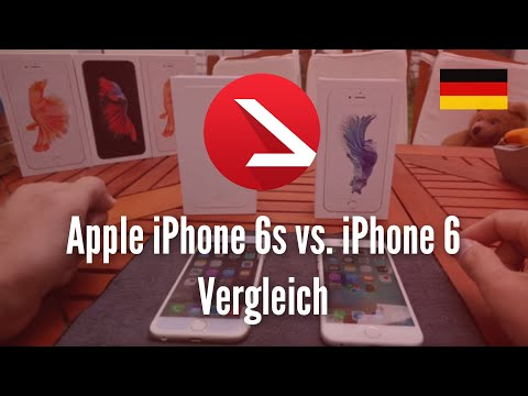 Apple iPhone 6s vs. iPhone 6 Vergleich [4K UHD]