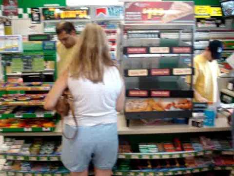 Buying Cigarettes @ Hess