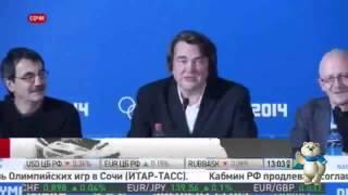 видео: Почему  не раскрылось кольцо на Открытии Олимпиады 2014
