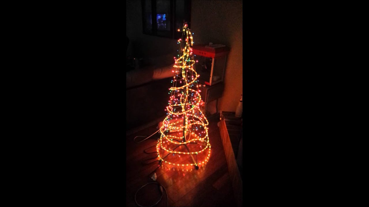 Rope light christmas tree youtube rope light christmas tree aloadofball Gallery