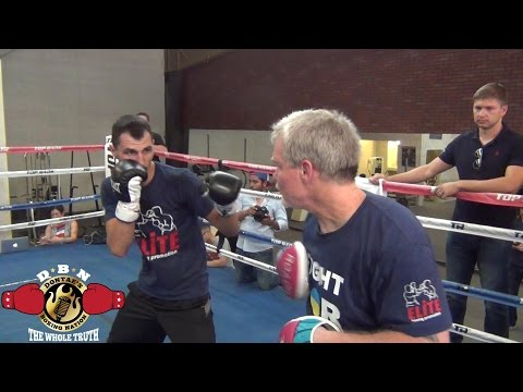 VIKTOR POSTOL & ROACH WORKING ON COMBOS FOR TERENCE CRAWFORD