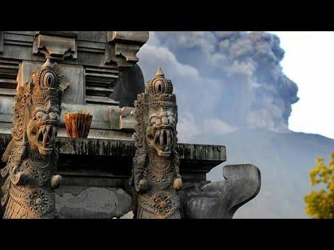 EFEK RUMAH KACA - DEBU DEBU BERTERBANGAN (ERUPSI GUNUNG AGUNG BALI NOVEMBER 2017)