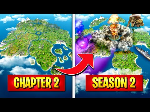 *NEW* CHAPTER 2 SEASON 2 HUGE *MAP CHANGES* THAT YOU NEED TO KNOW! (Battle Royale)