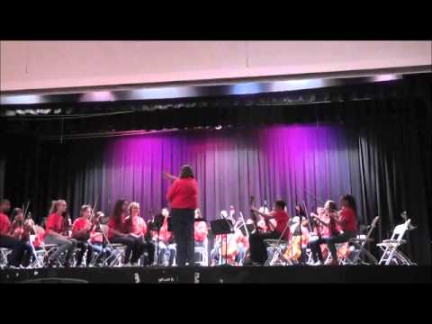Union Vale Middle School 8th Grade Orchestra- Music In The Parks 2013- Mrs. Rizzo