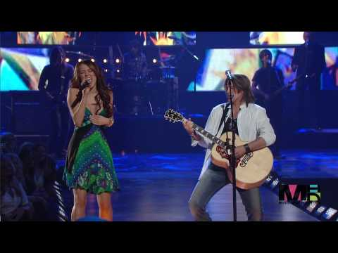 Billy Ray Cyrus & Miley Cyrus - Ready Set  Don't Go ( Live ) En Vivo