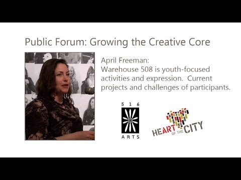 April Freeman - Growing the Creative Core