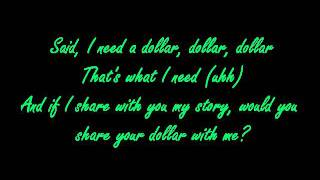 I Need A Dollar REMIX- Chris Webby ft. Mac Miller (lyrics on screen)