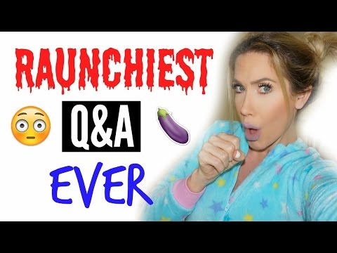 YOUTUBERS I WOULD HOOK UP WITH (RAUNCHY Q&A)