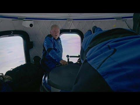 شاهد: نجم -ستار تريك- يروي قصة سفره إلى الفضاء عن عمر ناهز 90 عاما…  - 06:53-2021 / 10 / 15