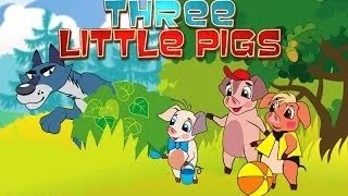 The 3 Little Pigs - Cartoon Movie In Hindi