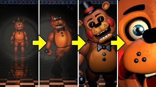 If I can Control the Animatronics in FNAF 2 Mod