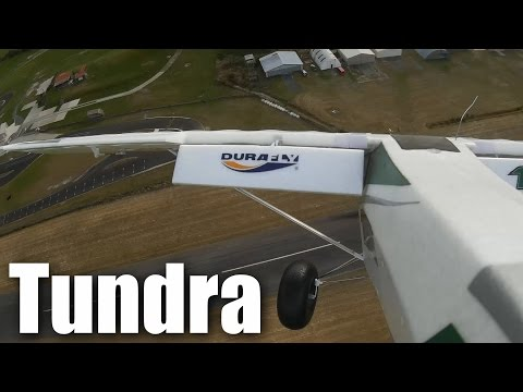Durafly Tundra - very steep landing approaches