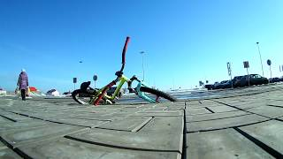 Обучение трюков на велосипеде