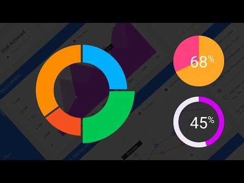 How To Create Doughnut Charts And Pie Charts In Photoshop   Adobe Photoshop Tutorial   DesignSpace