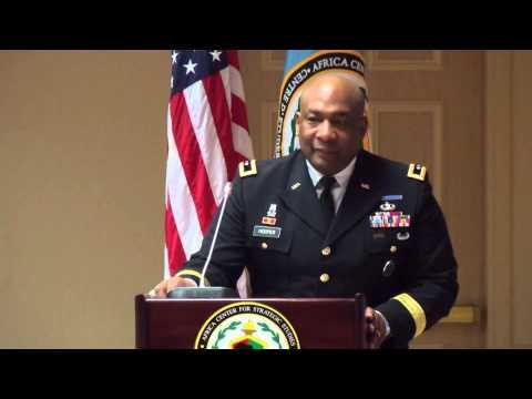 DOD Policies & AFRICOM Programs - Maj. Gen. Charles W. Hooper [March 2013]