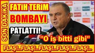 FATiH TERiM BOMBAYI PATLATTI! (Galatasaray Transfer Haberleri)