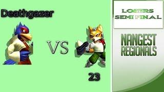 NG1 Pro Deathgazer (Falco) Vs 23 (Fox) LSF