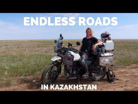 [Eps. 91] ENDLESS ROADS in Kazakhstan - Royal Enfield Himalayan BS4