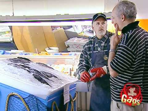Live Fish Market Practical Joke