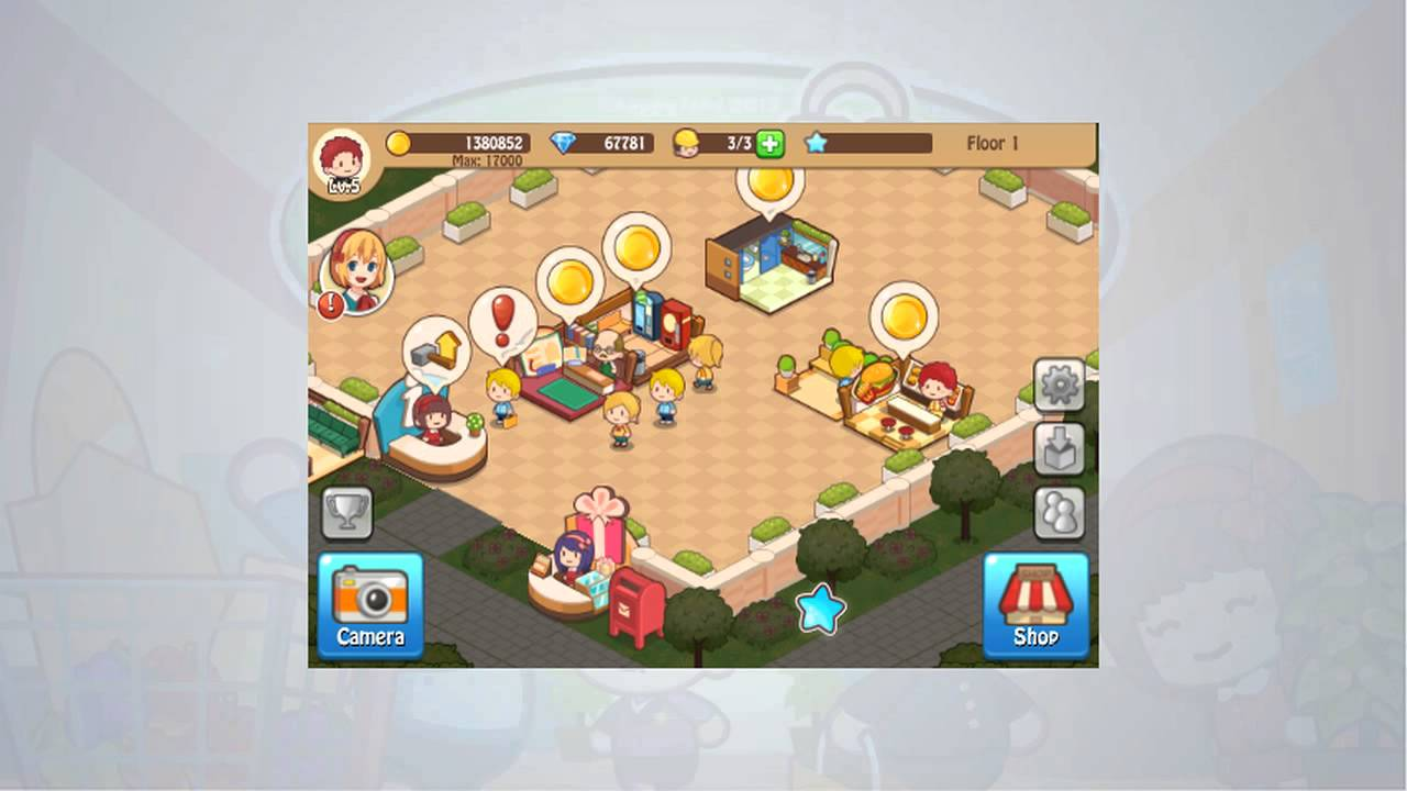 Happy Mall Story Hack Android Cheats For Unlimited Golds