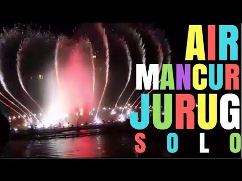 Air Mancur Taman Pelangi Jurug Dancing Fountain Show