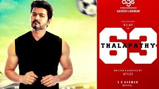 BREAKING : THALAPATHY 63 Marana Mass Intro Song Shooting Venue And Details Here