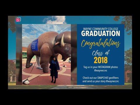 Wayne Community College Commencement Ceremony - December 2018